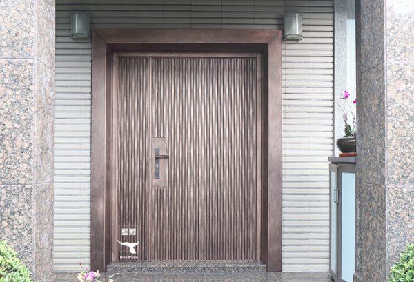 【H3 湖波 铸铝 红古铜】上海欧阳宅